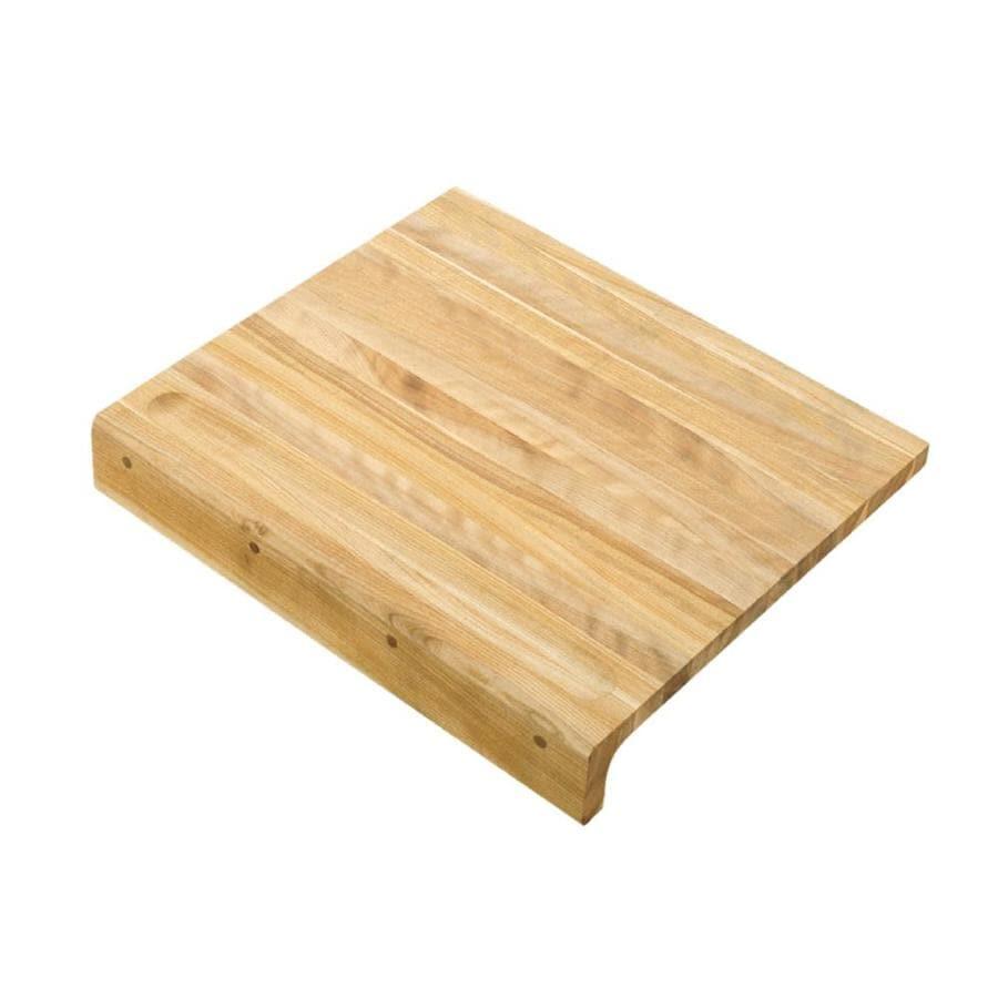 KOHLER 18-in L x 16-in W Wood Cutting Board