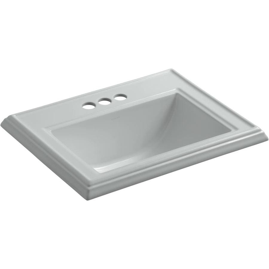 Grey Bathroom Sink : Shop KOHLER Ice Grey Bathroom Sink at Lowes.com