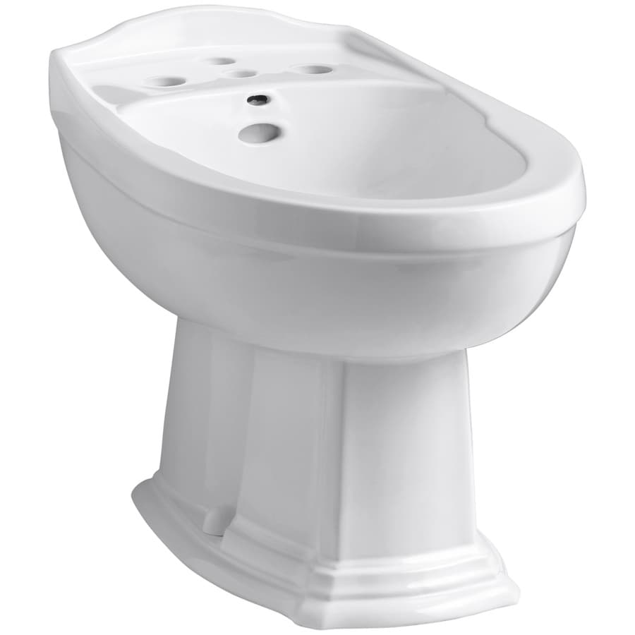 KOHLER Portrait 15-in H White Elongated Bidet