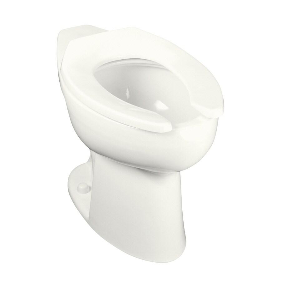 KOHLER White Elongated Toilet Bowl