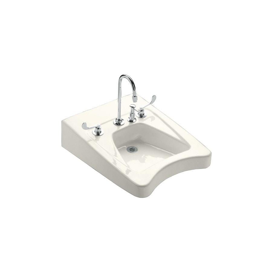 Kohler Ada Sinks : Shop KOHLER Biscuit Bathroom Sink at Lowes.com