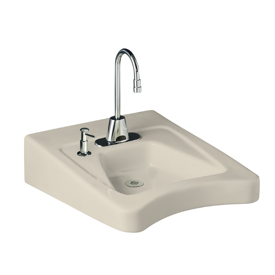 Bathroom Sinks Kohler : Shop KOHLER Almond Bathroom Sink at Lowes.com
