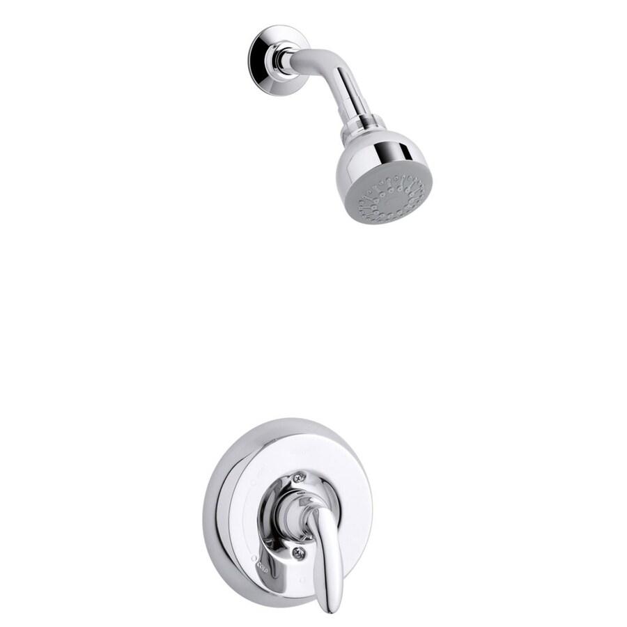 Kohler Coralais Shower Faucet Parts: Shop KOHLER Coralais Polished Chrome 1-Handle Shower