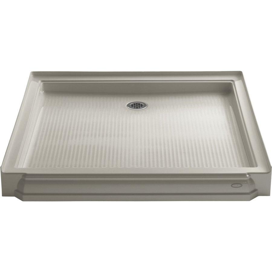 KOHLER Memoirs Sandbar Acrylic Shower Base (Common: 48-in W x 48-in L; Actual: 48-in W x 48-in L)