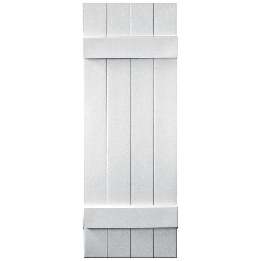 Shop Vantage 2 Pack White Board And Batten Vinyl Exterior