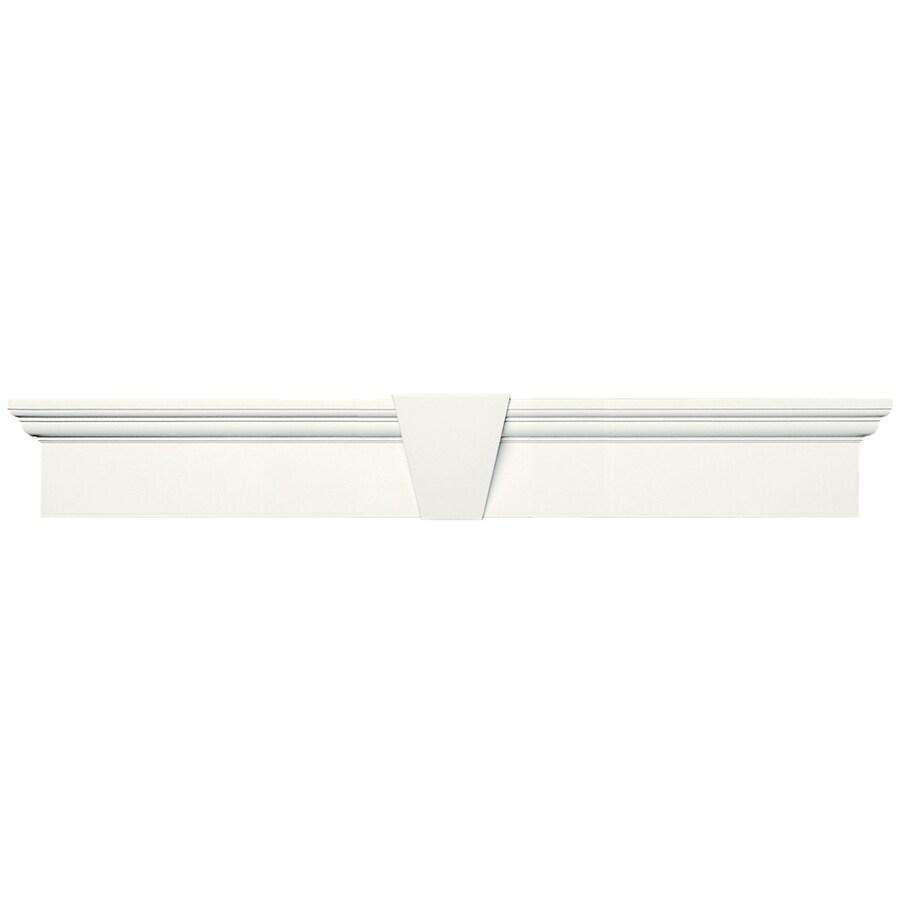 Vantage 37.5-in x 6-in White Vinyl Window Header