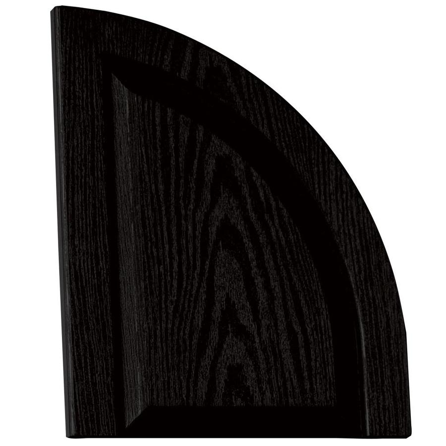 Vantage 2-Pack Black Raised Panel Vinyl Exterior Shutters (Common: 14-in x 17-in; Actual: 13.875-in x 17.3125-in)