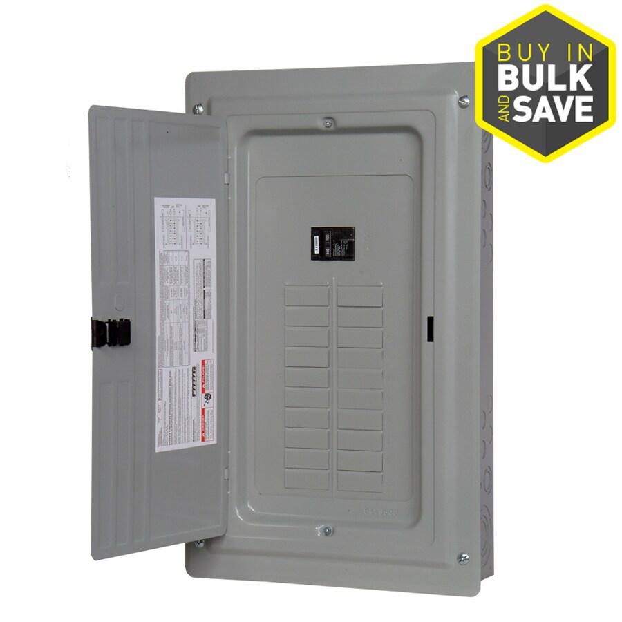 Murray 40-Circuit 20-Space 100-Amp Main Breaker Load Center (Value Pack)