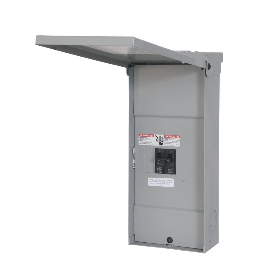 Murray 4-Circuit 2-Space 100-Amp Main Breaker Load Center
