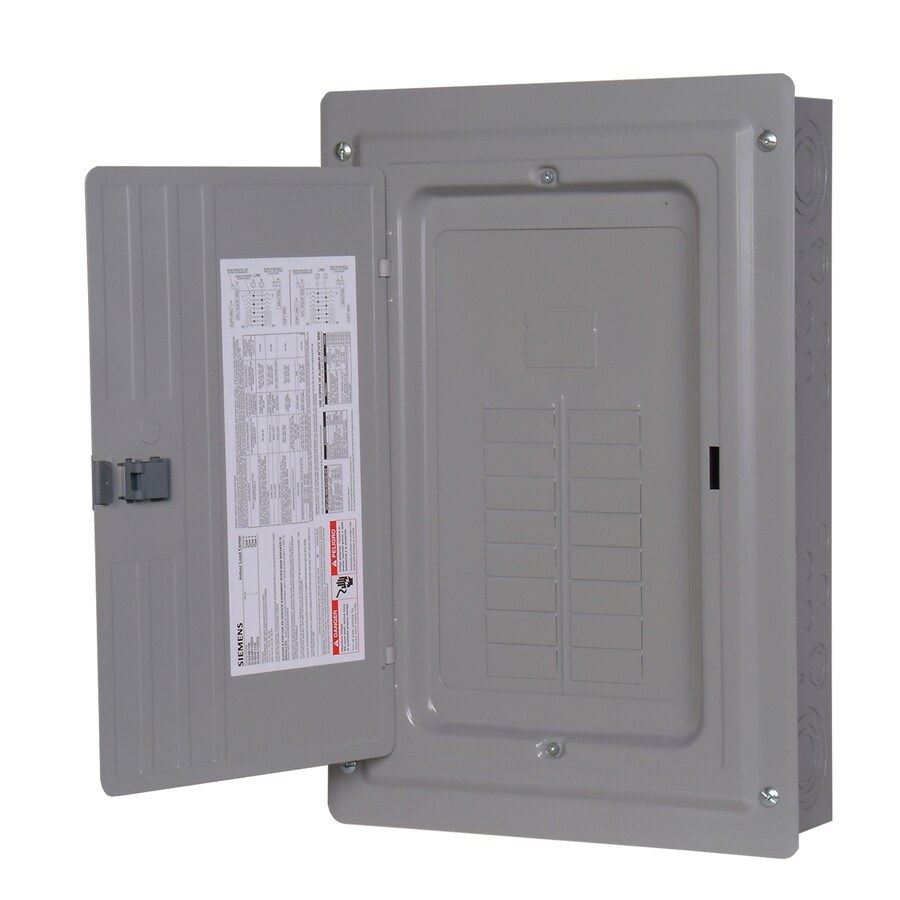Siemens 24-Circuit 12-Space 125-Amp Main Lug Load Center