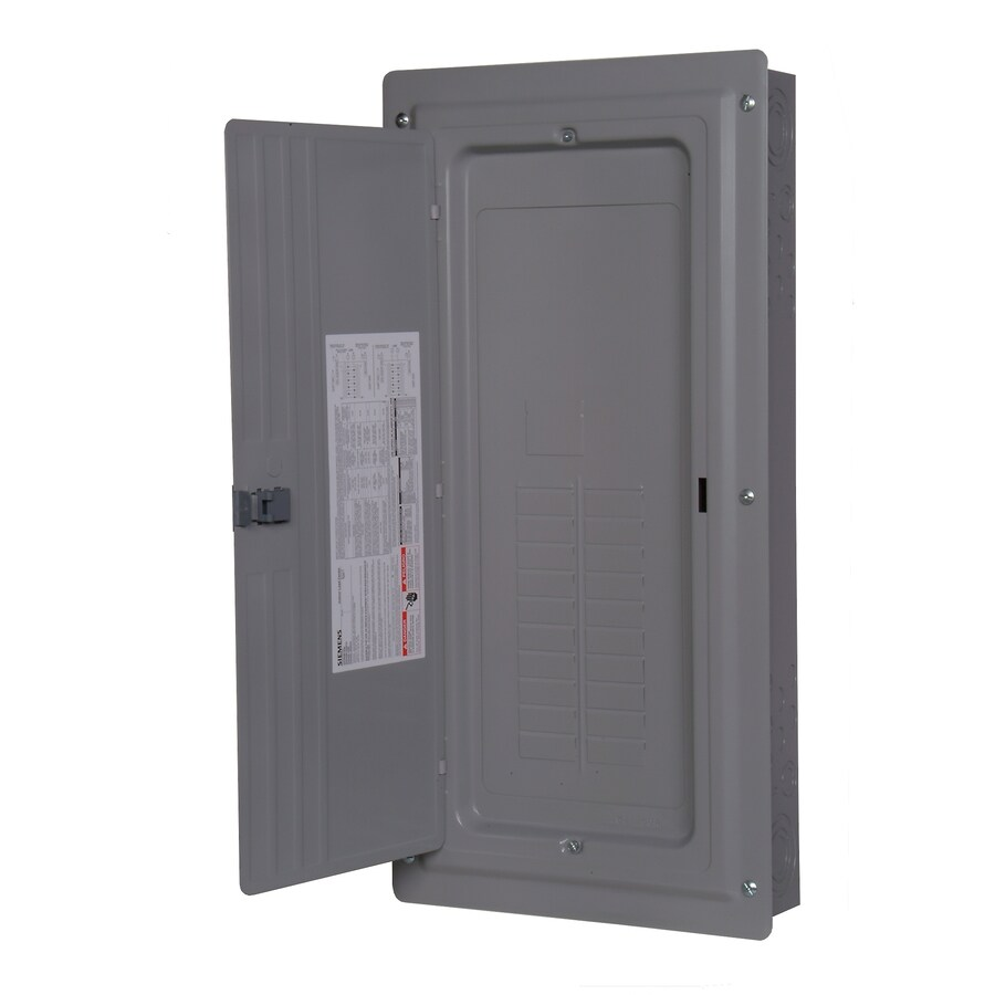 Siemens 30-Circuit 20-Space 150-Amp Main Lug Load Center