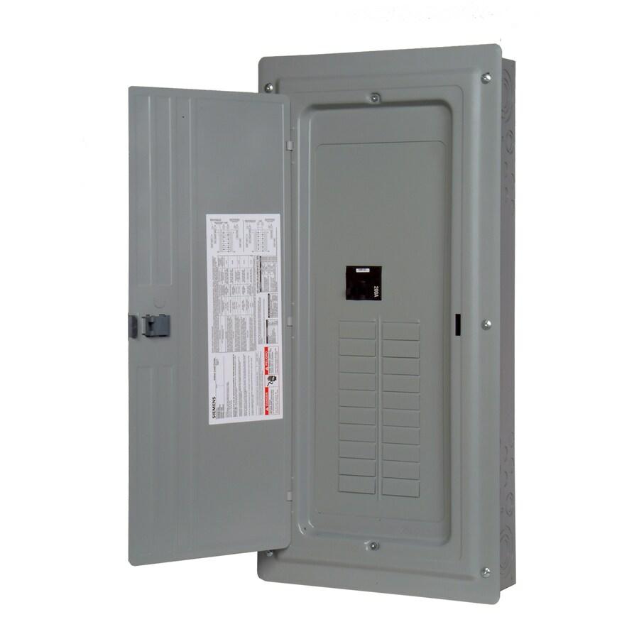 Siemens 40-Circuit 20-Space 200-Amp Main Breaker Load Center