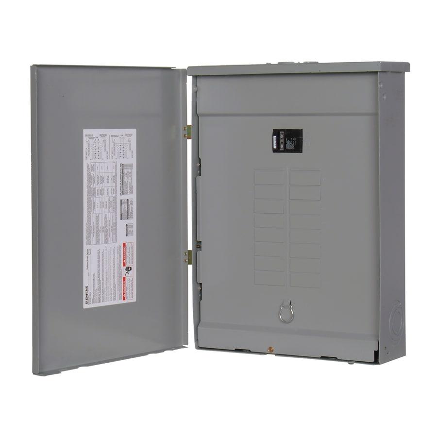 Siemens 20-Circuit 20-Space 100-Amp Main Breaker Load Center