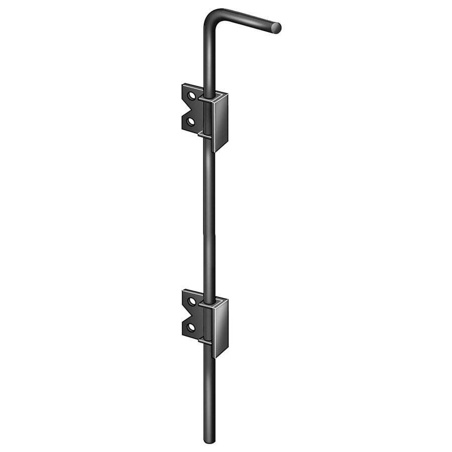 Freedom 7-Pack Black Aluminum Fence Hardware