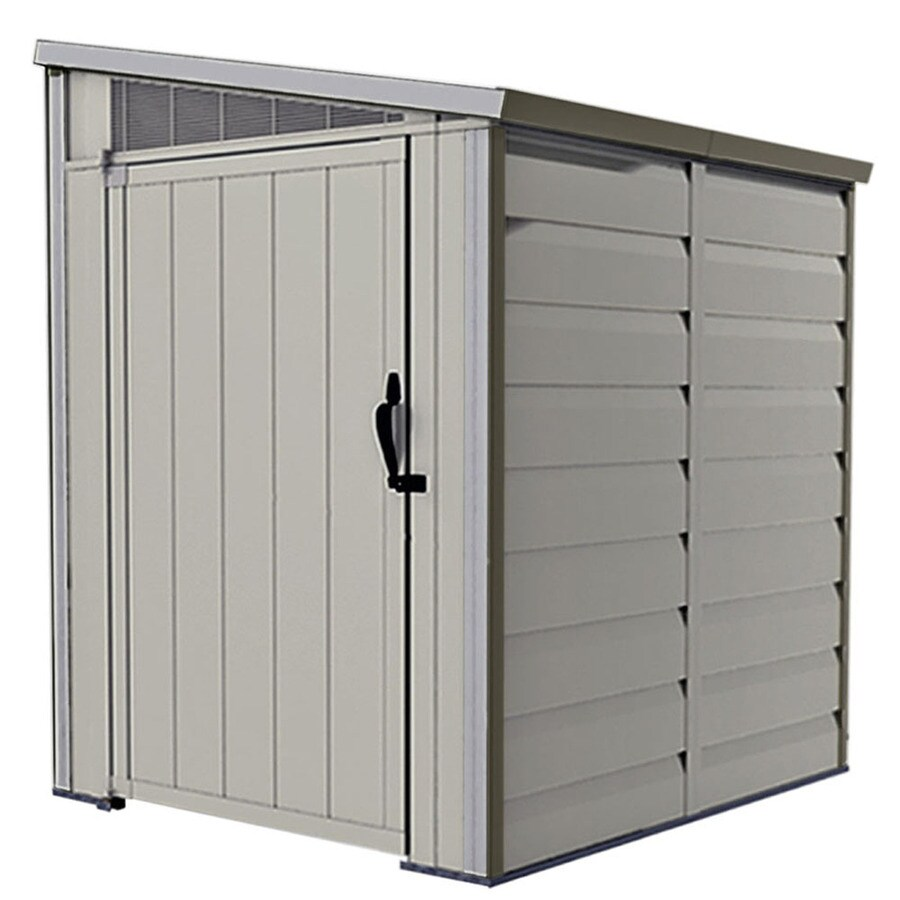 Shop Homestyles Select Gable Storage Shed (Common: 4-ft x ...