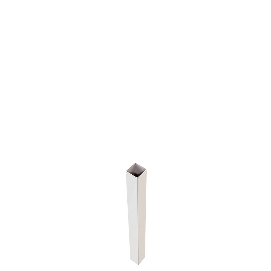 Freedom White Vinyl Fence Blank Post (Common: 5-in x 5-in x 5-ft; Actual: 5-in x 5-in x 5-ft)