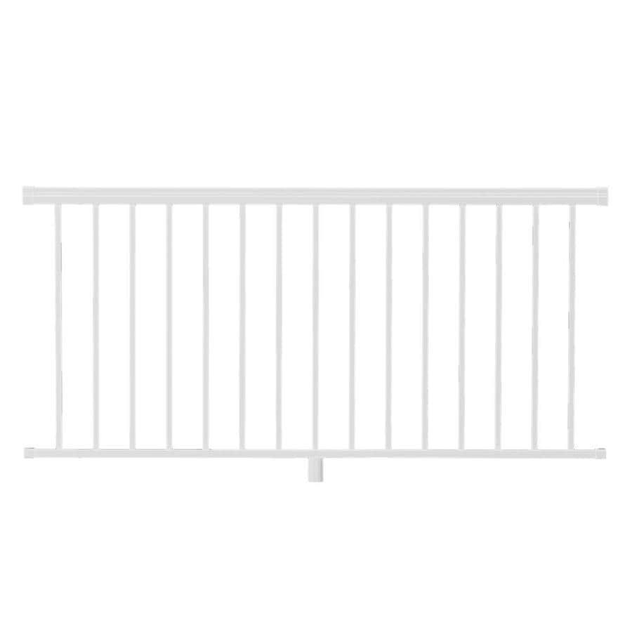 Freedom Versarail 70.25-in W x 36-in H White Aluminum Porch Railing Kit