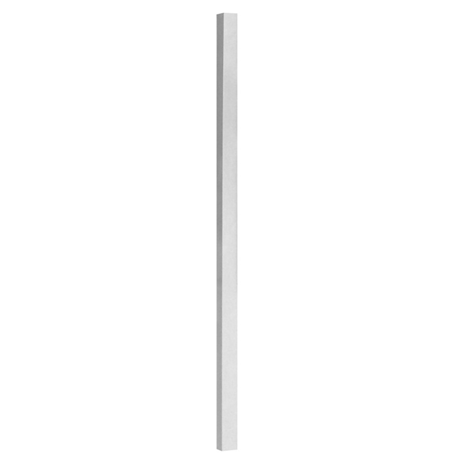 Freedom Versarail 39-in White Painted Aluminum Porch Post