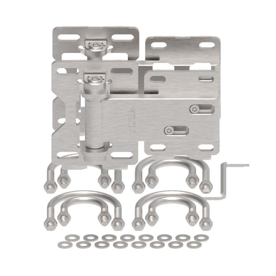 BOERBOEL 2-Pack Steel-Painted Gate Hinge