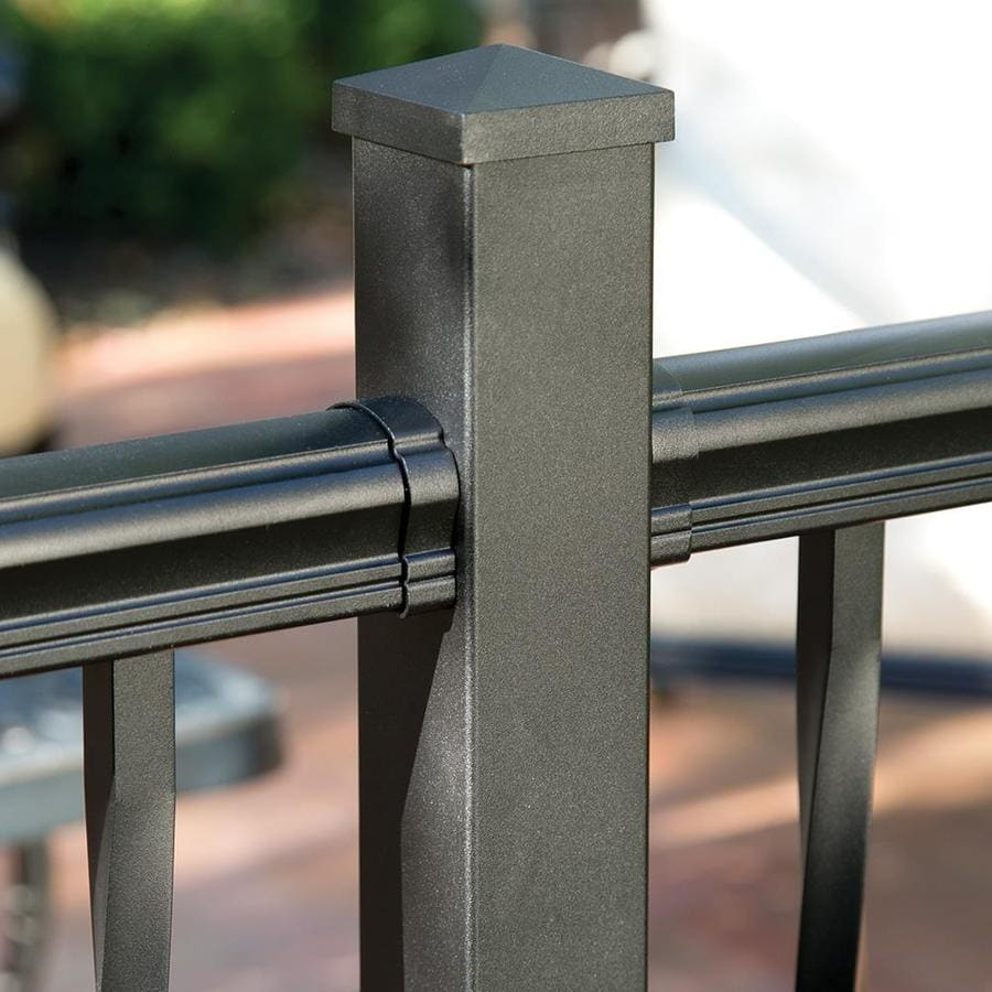 Freedom Cambridge 4-Pack Aluminum Straight Porch Railing Brackets