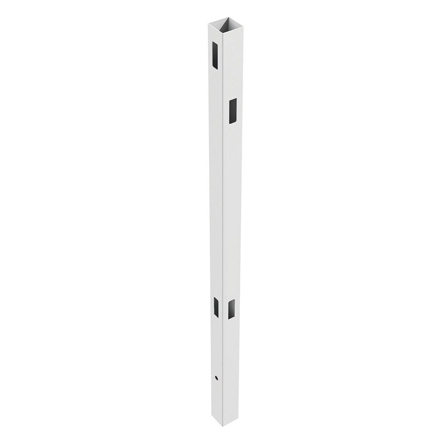 Freedom Ready-To-Assemble White Vinyl Fence Corner Post (Common: 5-in x 5-in x 9-ft; Actual: 5-in x 5-in x 9-ft)