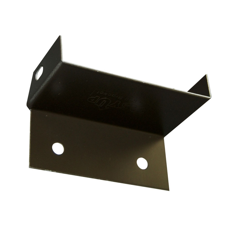 Barrette Brown Aluminum Fence Bracket
