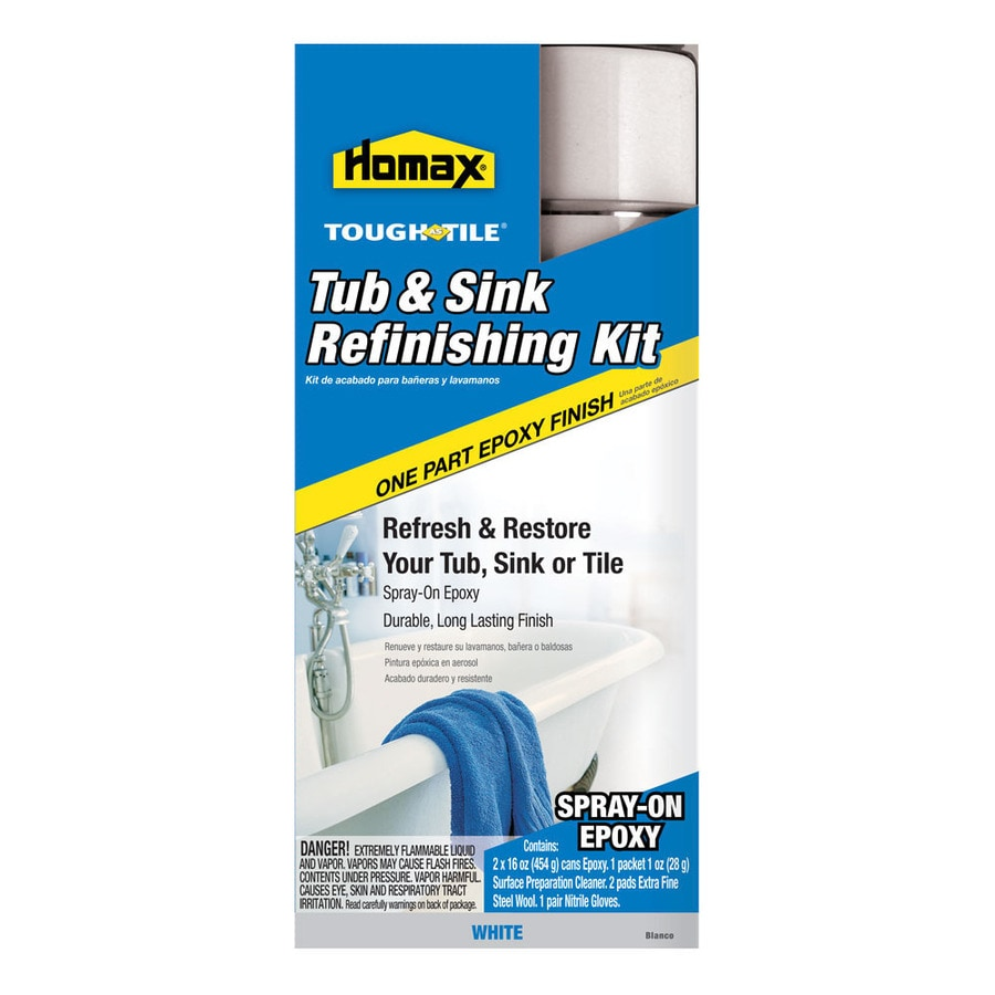 Homax 32-fl oz Interior High-Gloss Kitchen and Bath White Epoxy-Base Paint and Primer in One