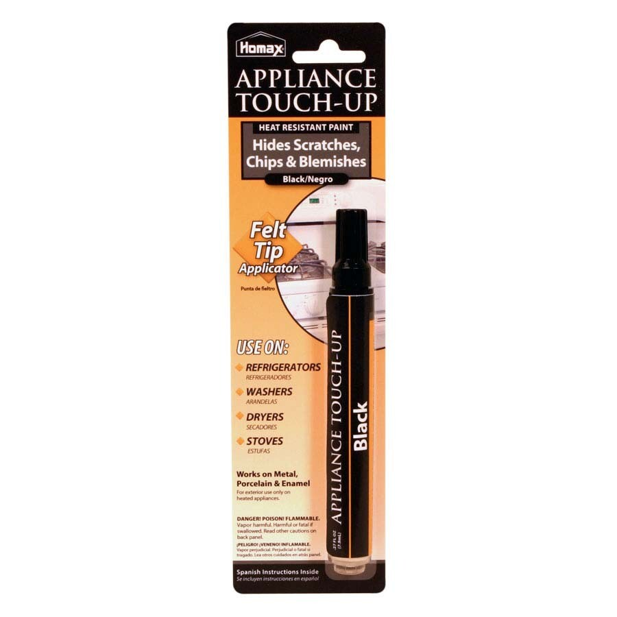 Homax 1-oz Black Appliance Touch-Up Paint