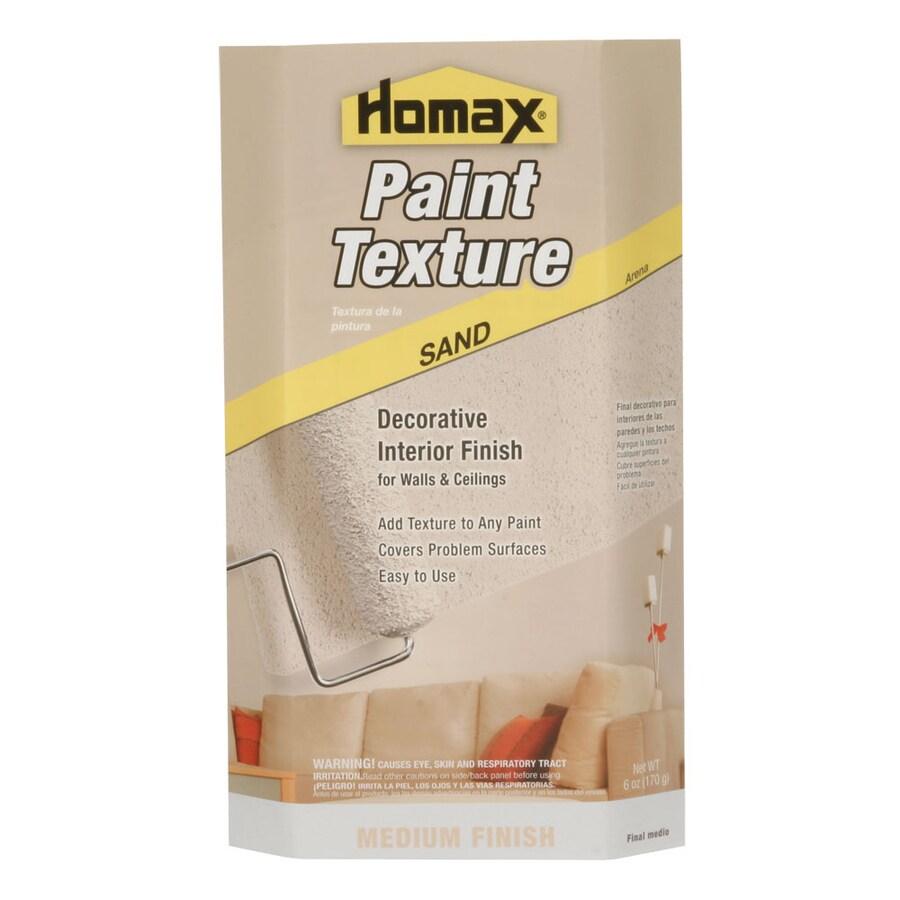 Homax Paint Texture Additives (Actual Net Contents: 6-fl oz)
