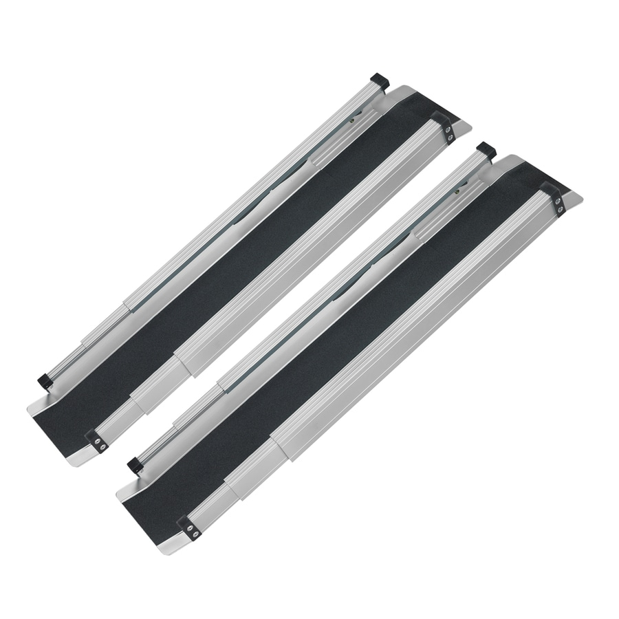 DMI 59.5-in L x 4.5-in W Aluminum Wheelchair Ramp Run