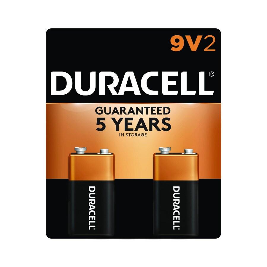 Duracell 2-Pack 9V Alkaline Batteries