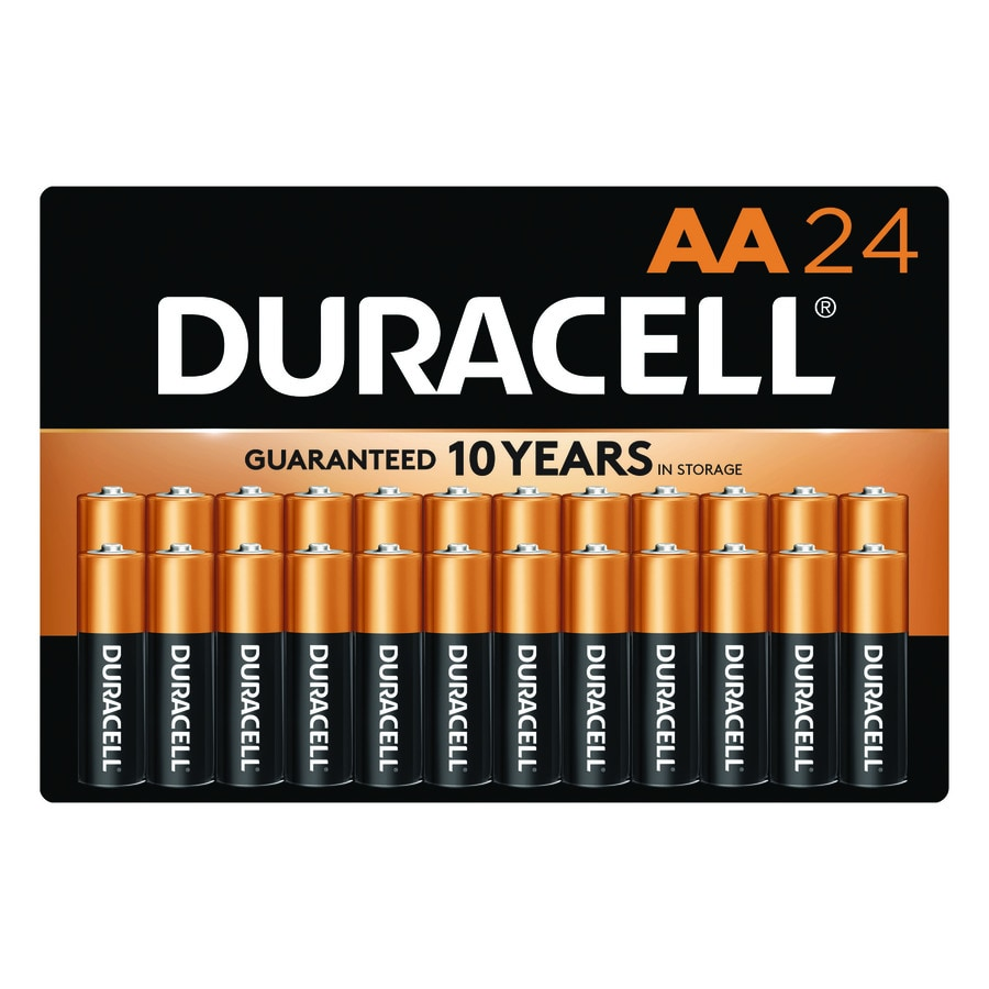 Duracell 24-Pack AA Alkaline Batteries