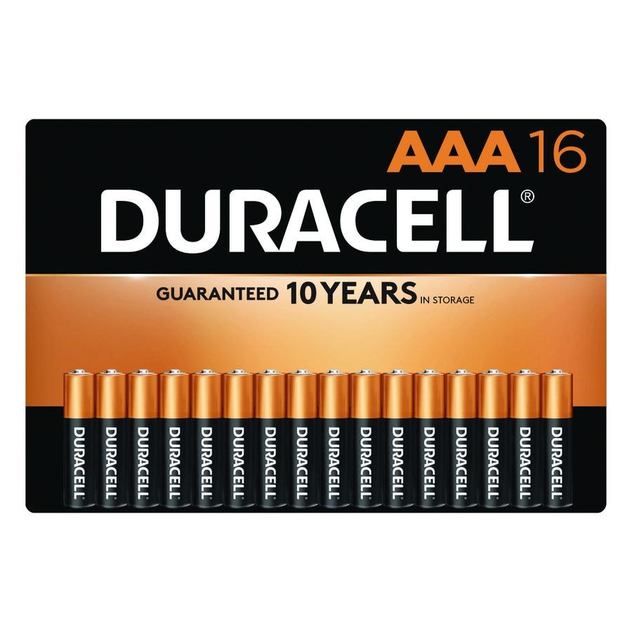 Duracell 16-Pack AAA Alkaline Batteries