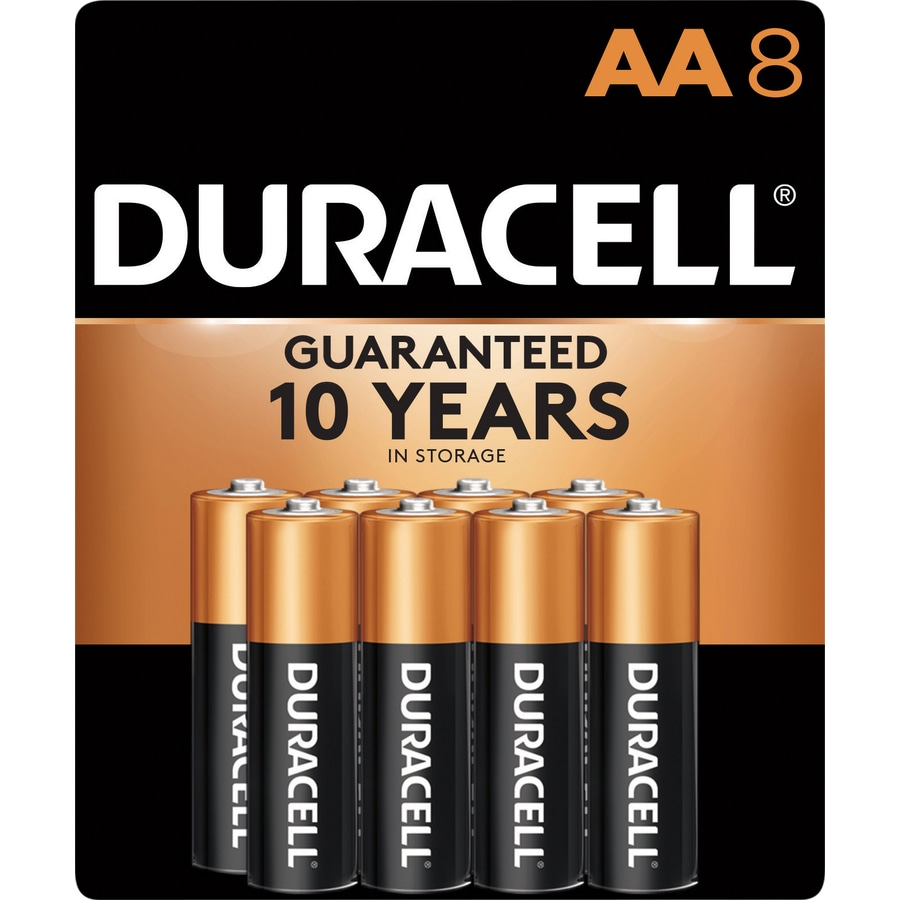 Duracell 8-Pack AA Alkaline Batteries