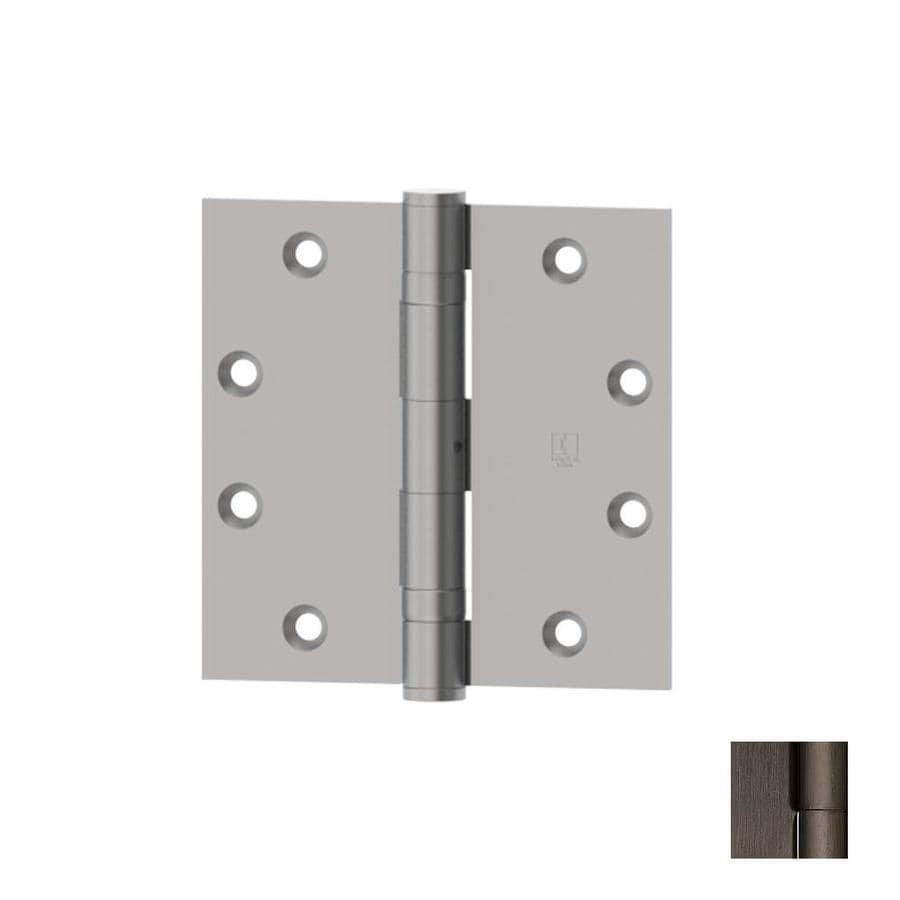 Hager Distressed Antique Nickel Door Hinge