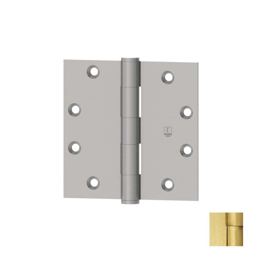 Hager Satin Brass Door Hinge