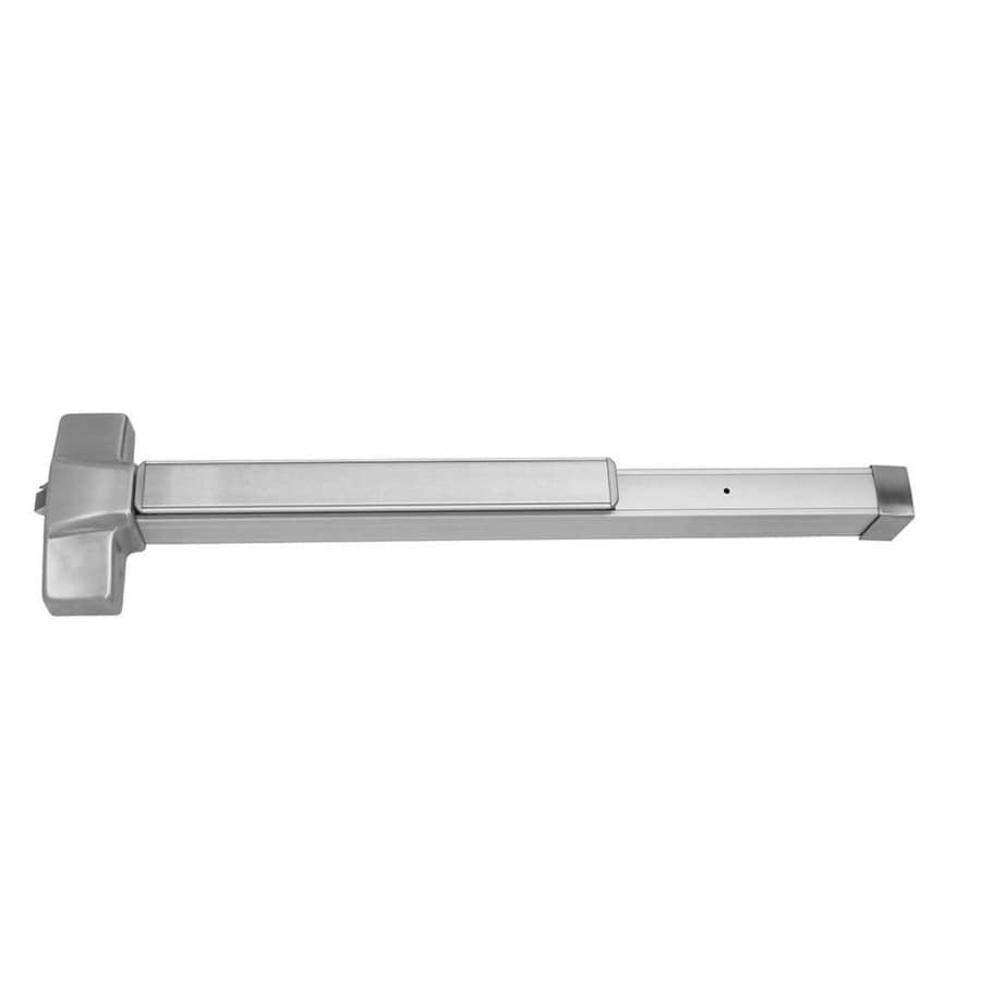 Hager 4500 Series 36-in Satin Chrome Steel Rim Exit Device