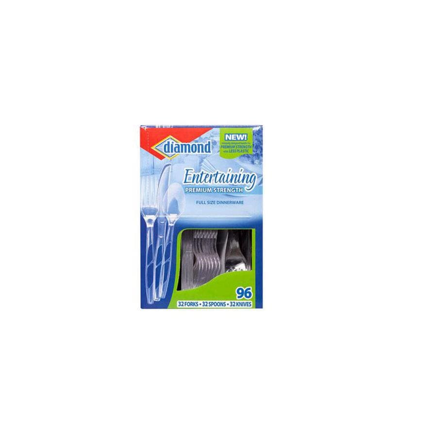 Diamond 96-Count Assorted Disposable Cutlery