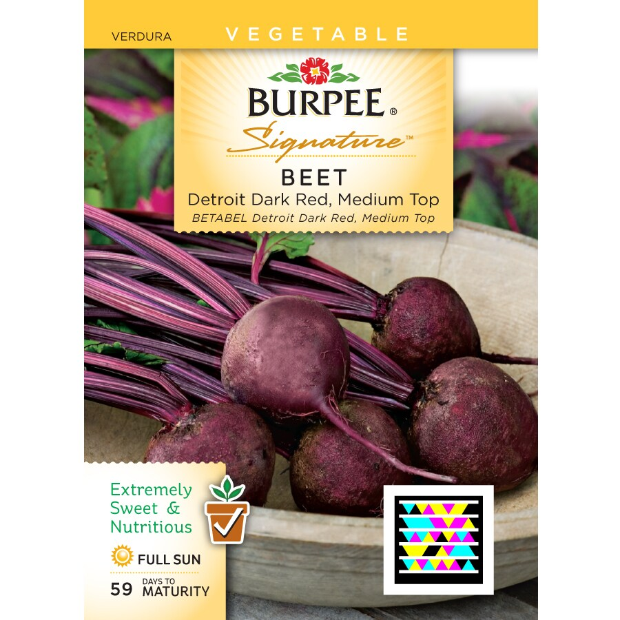 Burpee Beet Vegetable Seed Packet