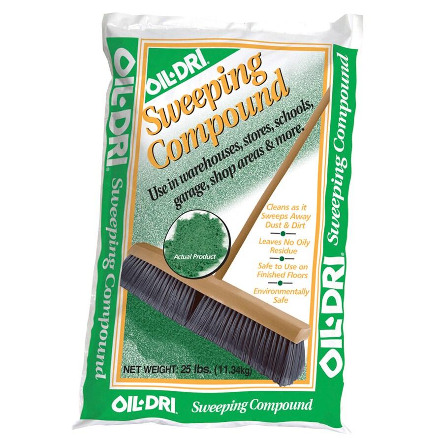 Oil-Dri Green Sweeping Compound