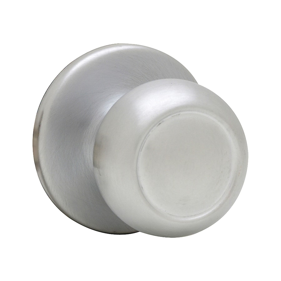 Kwikset Signature Circa Satin Chrome Round Passage Door Knob