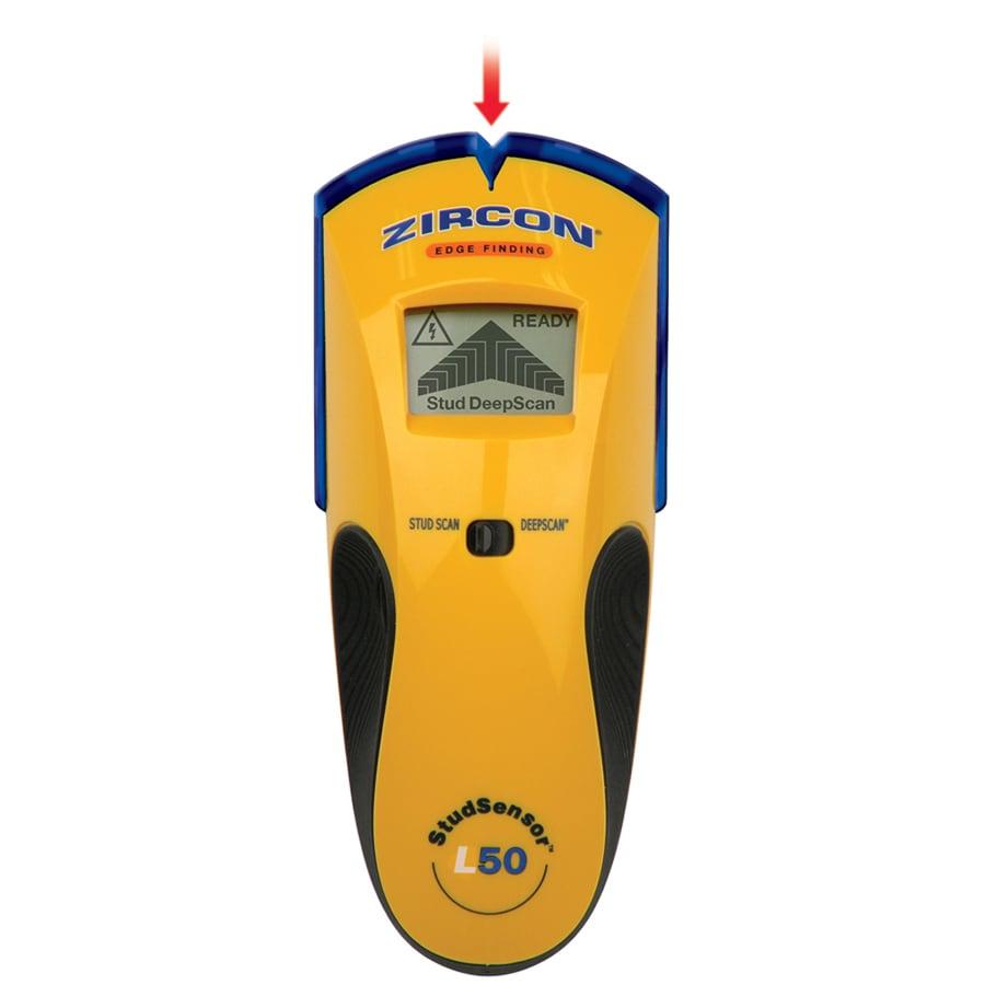 Zircon Studsensor L50 Stud Finder With WireWarning