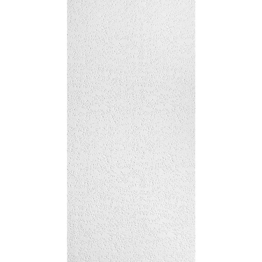 Armstrong Impression Homestyle 8-Pack White Textured 15/16-in Drop Acoustic Panel Ceiling Tiles (Common: 48-in x 24-in; Actual: 47.719-in x 23.719-in)
