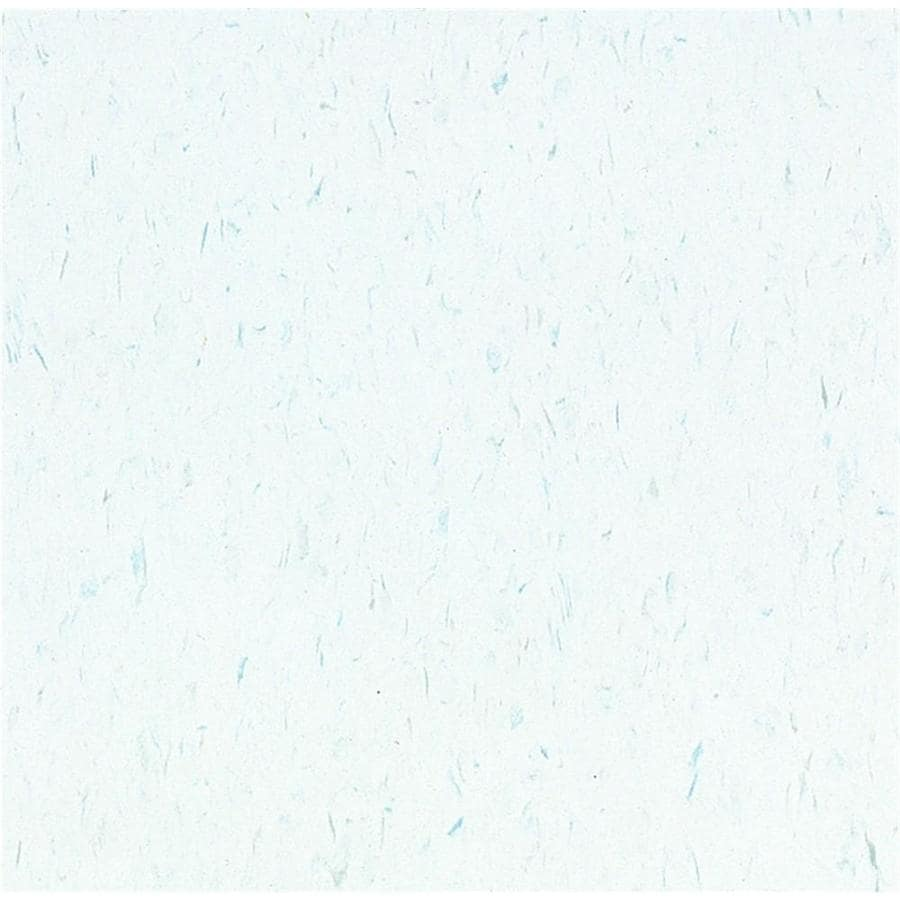 Armstrong 12-in x 12-in Blue Cloud Speckle Pattern Commercial Vinyl Tile