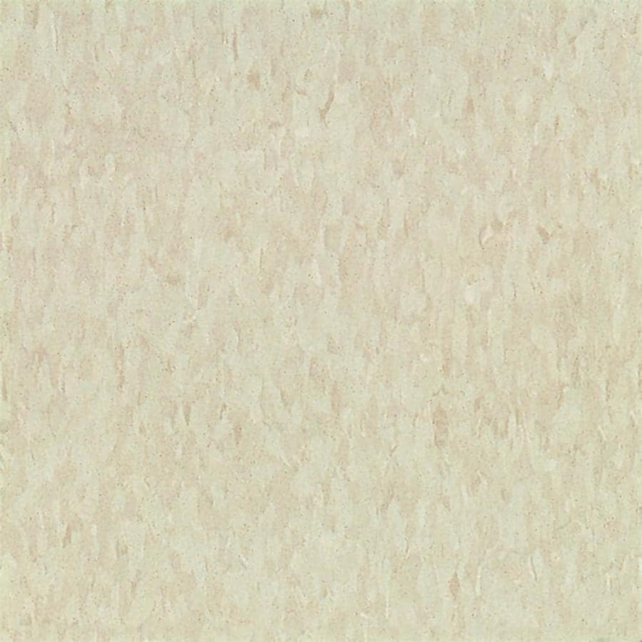 Armstrong 12-in x 12-in Antique White Speckle Pattern Commercial Vinyl Tile