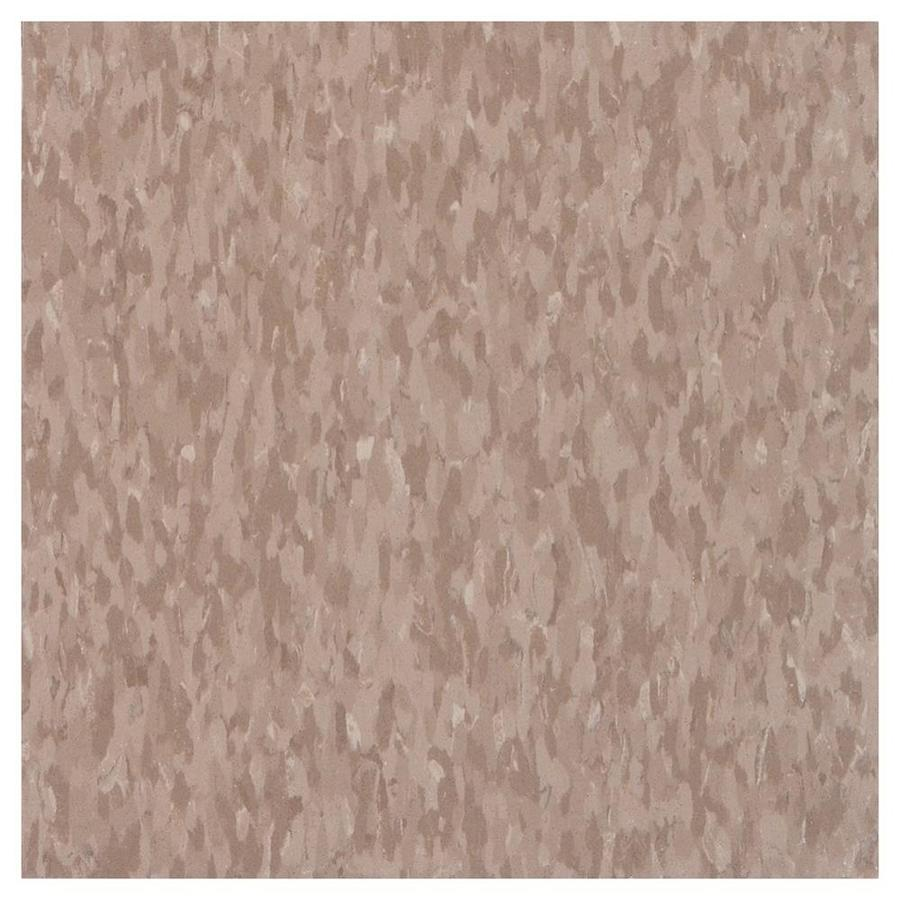 Armstrong 12-in x 12-in Cafe Latte Chip Pattern Commercial Vinyl Tile