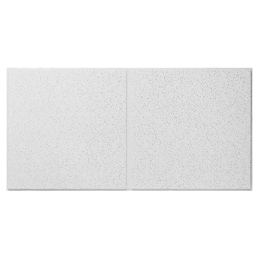 Armstrong Fine Fissured Second Look 10-Pack White Fissured 15/16-in Drop Acoustic Panel Ceiling Tiles (Common: 48-in x 24-in; Actual: 47.704-in x 23.704-in)
