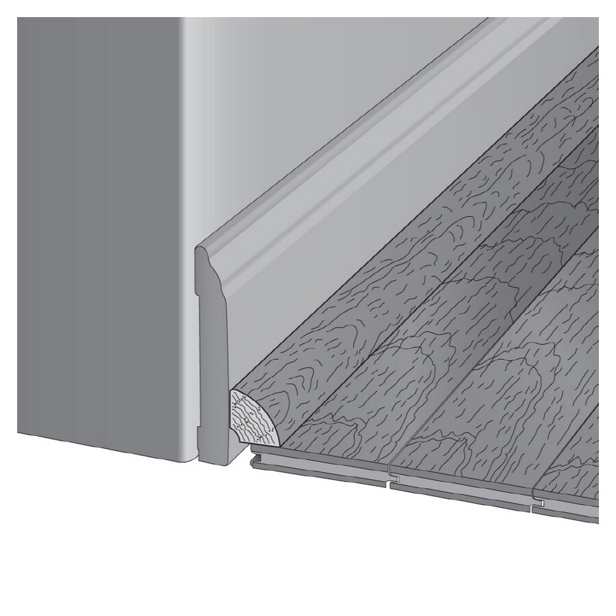 Bruce 0.75-in x 78-in White Cherry Oak Quarter Round Floor Moulding