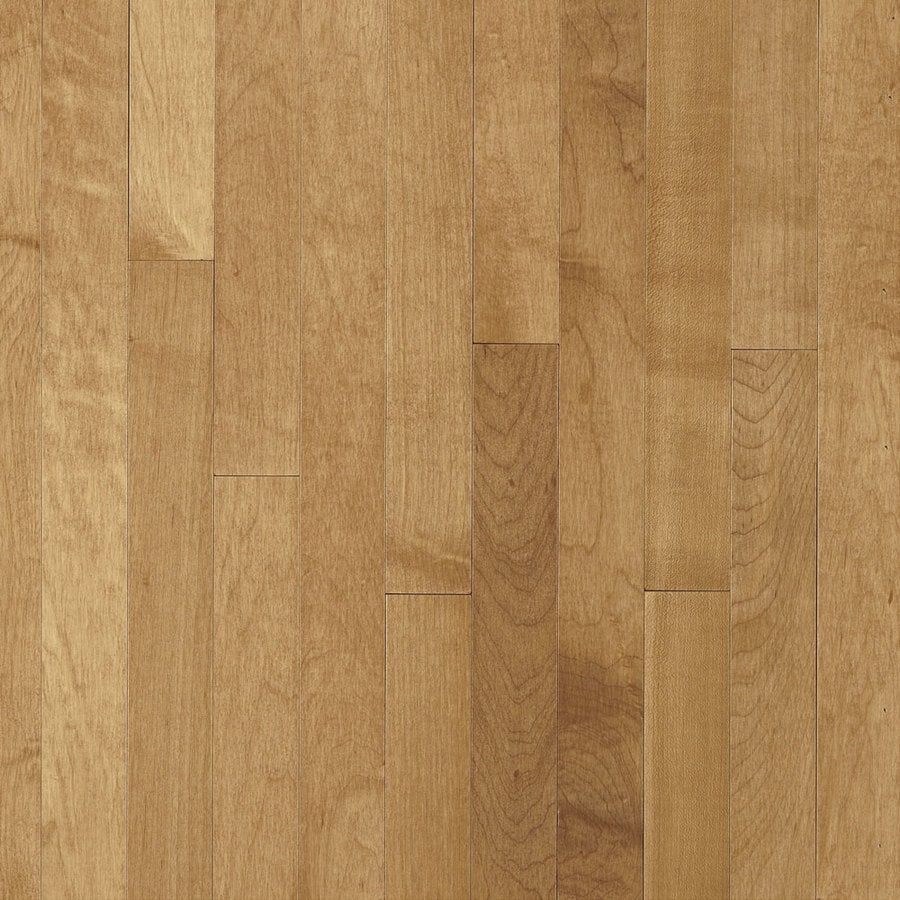 Shop bruce kennedale strip w prefinished maple for Maple hardwood flooring