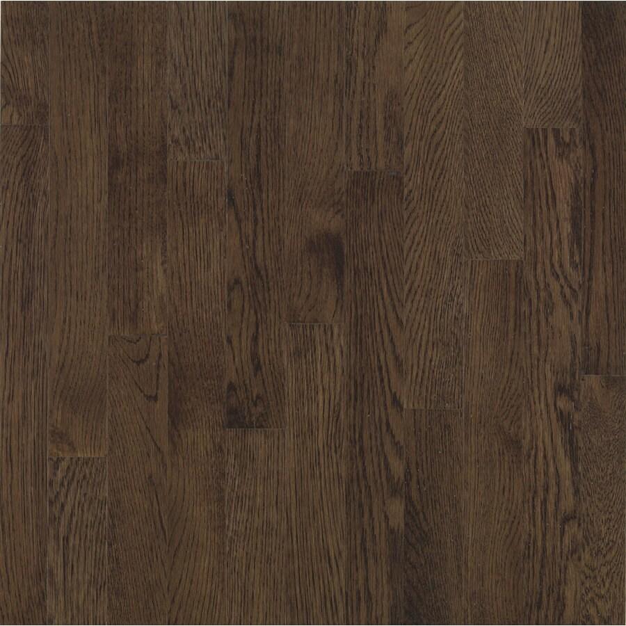 Bruce Barrett Strip 2.25-in W Prefinished Oak Hardwood Flooring (Mocha)